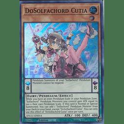 DoSolfachord Cutia - ANGU-EN014 - Super Rare 1st Edition