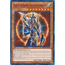 Black Luster Soldier - Envoy of the Beginning - SDSH-EN012 - Common 1st Edition