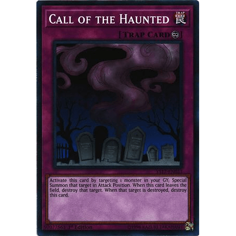 Call Of The Haunted - ys17-en033 - Common 1st Edition