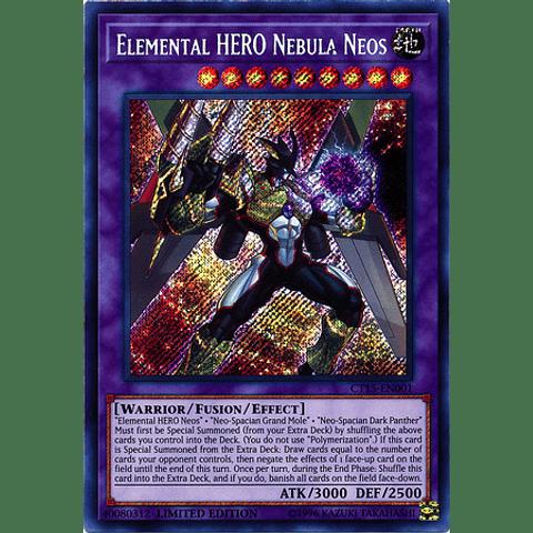 Elemental Hero Nebula Neos - Ct15-en001 - Secret Rare Limited Edition