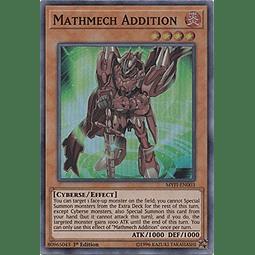Mathmech Addition - MYFI-EN003 - Super Rare 1st Edition