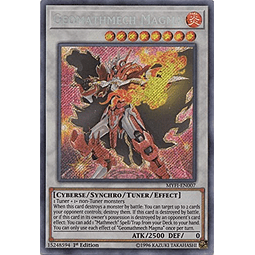 Geomathmech Magma - MYFI-EN007 - Secret Rare 1st Edition