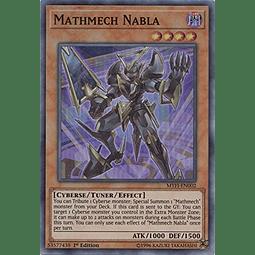 Mathmech Nabla - MYFI-EN002 - Super Rare 1st Edition