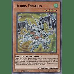Debris Dragon - MYFI-EN043 - Super Rare 1st Edition