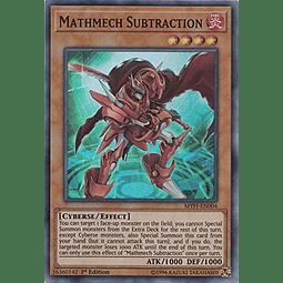 Mathmech Subtraction - MYFI-EN004 - Super Rare 1st Edition
