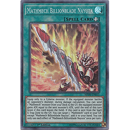 Mathmech Billionblade Nayuta - MYFI-EN011 - Super Rare 1st Edition