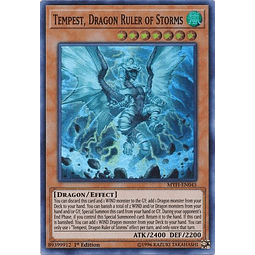 Tempest, Dragon Ruler of Storms - MYFI-EN045 - Super Rare 1st Edition