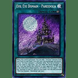 Evil Eye Domain - Pareidolia - INCH-EN033 - Secret Rare 1st Edition