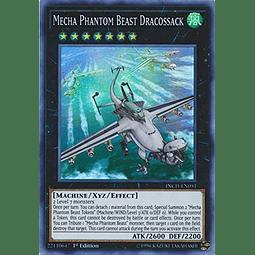 Mecha Phantom Beast Dracossack - INCH-EN051 - Super Rare 1st Edition