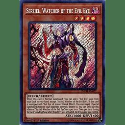 Serziel, Watcher of the Evil Eye - INCH-EN027 - Secret Rare 1st Edition