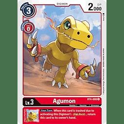BT4-008 C Agumon Digimon