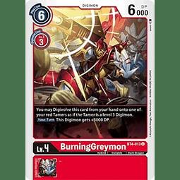 BT4-013 U BurningGreymon Digimon