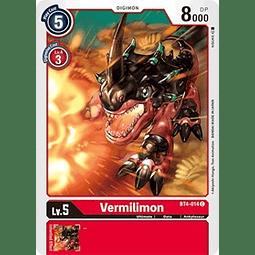 BT4-014 C Vermilimon Digimon