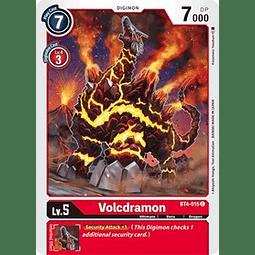 BT4-015 C Volcdramon Digimon