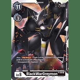 BlackWarGreymon - P-026 (Great Dash Pack)