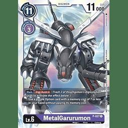 MetalGarurumon - P-027 (Great Dash Pack)