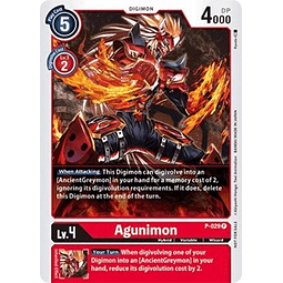 Agunimon - P-029 (Great Legend Power Up Pack)