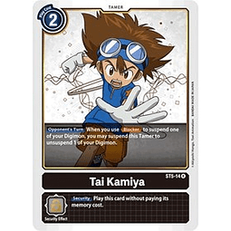 Tai Kamiya - ST5-14