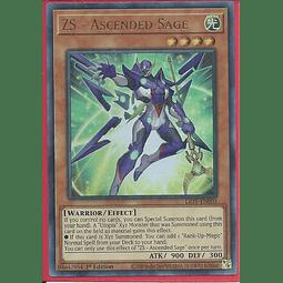ZS - Ascended Sage - LIOV-EN003 - Ultra Rare 1st Edition