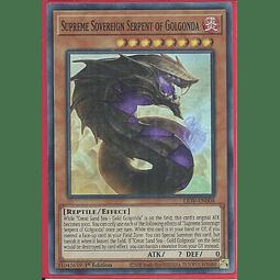 Supreme Sovereign Serpent of Golgonda - LIOV-EN004 - Super Rare 1st Edition