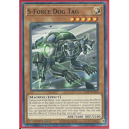S-Force Dog Tag - LIOV-EN014 - Common 1st Edition