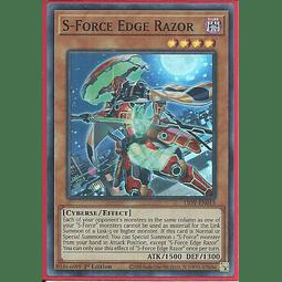 S-Force Edge Razor - LIOV-EN015 - Super Rare 1st Edition
