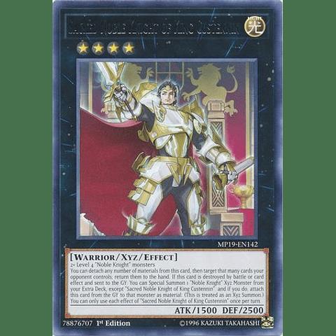 Sacred Noble Knight of King Custennin - MP19-EN142 - Rare Unlimited