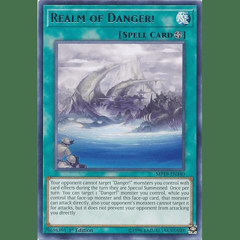 Realm of Danger! - MP19-EN140 - Rare Unlimited