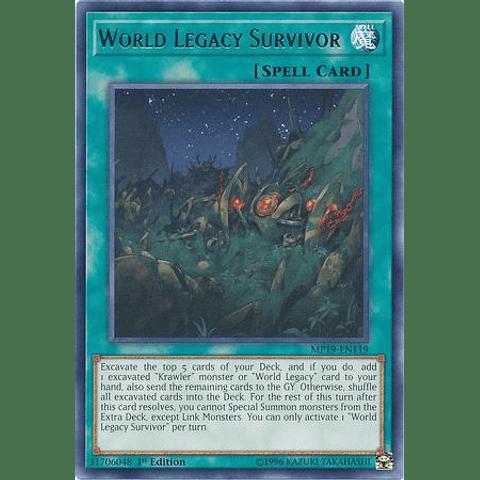 World Legacy Survivor - MP19-EN119 - Rare Unlimited