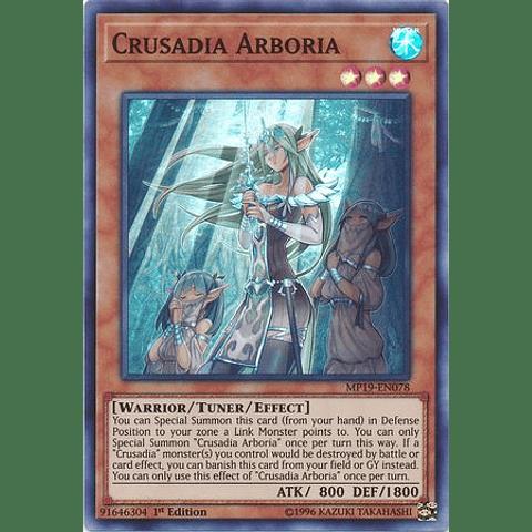 Crusadia Arboria - MP19-EN078 - Super Rare Unlimited