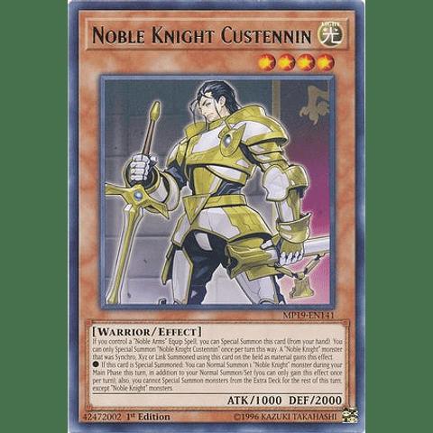Noble Knight Custennin - MP19-EN141 - Rare Unlimited