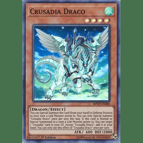 Crusadia Draco - MP19-EN080 - Super Rare Unlimited