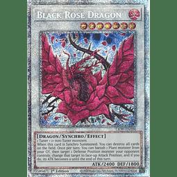 Black Rose Dragon - LIOV-EN100 - Starlight Rare 1st Edition