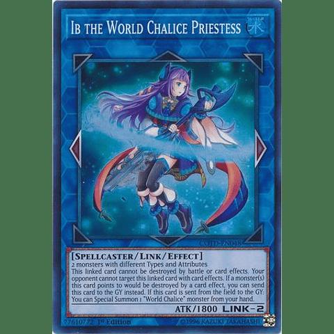 Ib The World Chalice Priestess -cotd-en048- Super Rare 1st Edition
