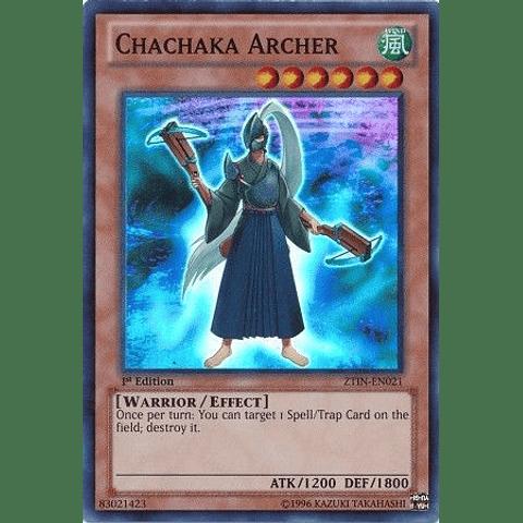Chachaka Archer -ztin-en021- Super Rare