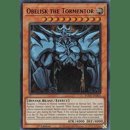 Obelisk the Tormentor - EGO1-EN001 - Ultra Rare 1st Edition