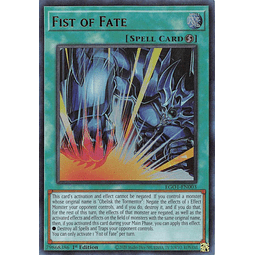 Fist of Fate - EGO1-EN003 - Ultra Rare 1st Edition