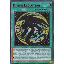 Divine Evolution - EGO1-EN004 - Ultra Rare 1st Edition