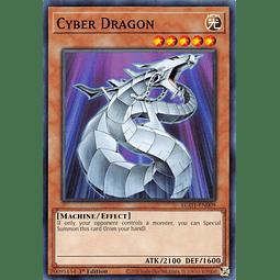 Cyber Dragon - EGO1-EN009 - Common 1st Edition