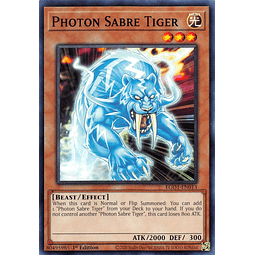 Photon Sabre Tiger - EGO1-EN013 - Common 1st Edition