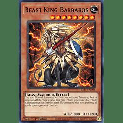 Beast King Barbaros - EGS1-EN008 - Common 1st Edition