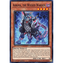 Ahrima, the Wicked Warden - EGS1-EN016 - Common 1st Edition