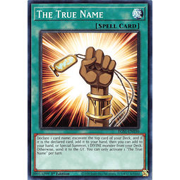 The True Name - EGS1-EN030 - Common 1st Edition