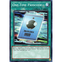 One-Time Passcode - EGS1-EN031 - Common 1st Edition