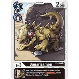 BT4-064 U Sunarizamon Digimon  (Pre-Release)
