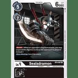 BT4-067 U Sealsdramon Digimon  (Pre-Release)