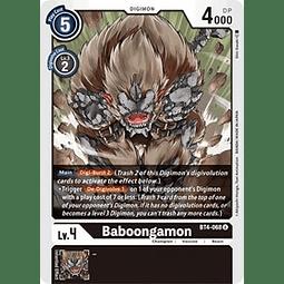 BT4-068 U Baboongamon Digimon  (Pre-Release)