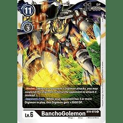 BT4-073 U BanchoGolemon Digimon  (Pre-Release)