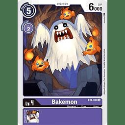 BT4-080 U Bakemon Digimon  (Pre-Release)