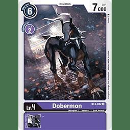 BT4-082 U Dobermon Digimon  (Pre-Release)